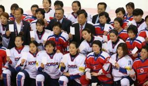 북한 여자 아이스하키 선수단 내일 남측 파견