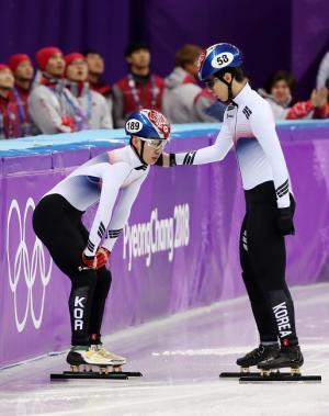 황대헌 쇼트트랙 남자 500m 은메달, 임효준 동메달
