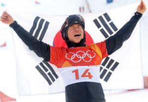 스노우보드 '이상호' 은메달 땄다...58년 만에 첫 메달