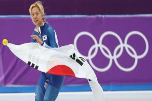 김보름, 女매스스타트 첫 은메달...