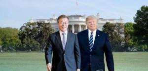 문대통령, 워싱턴D.C. 도착…내일 새벽 트럼프 대통령과 단독 회담