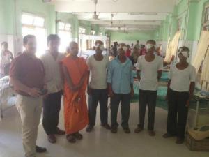 세종 파라미타, 인도 아삼지역 주민 안과 수술 지원